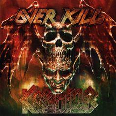 Kreator / Overkill - Man in Black / Warrior Heart 2017 split Overkill Band, Broly Ssj3, Rotten To The Core, Metal Albums, Lion Art, Best Albums, Thrash Metal, Metal Pins, Metalhead