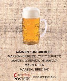MÄRZEN / OKTOBERFEST MÄRZEN (BIÈRE DE L'OKTOBERFEST) MÄRZEN (CERVEZA DE MARZO) MÄRZENBIER MÄRZEN / BŘEZŇÁK Beer, Mugs, Tableware, Shopping, Oktoberfest, Foods, Root Beer, Ale, Dinnerware