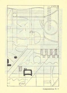 """Julius Evola, """"Composizione N. 3,"""" c. 1920"""