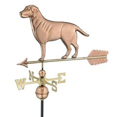 Good Directions Labrador Retriever Weathervane with Arrow - 560PA #labradorretriever