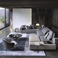 // v o g u e // #minotti #interior spotted in @vogueliving