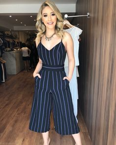 Summer Fashion Outfits, Trendy Outfits, Cool Outfits, Girl Fashion, Fashion Dresses, Vetement Fashion, Jumpsuit Outfit, Fashion Sewing, Jumpsuits For Women