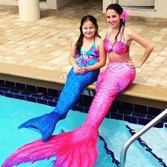 Making merfriends! ❤️ #mermaid #mermaids #mermaidlife