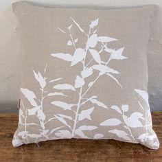 Cushion, Eucalypt (white)