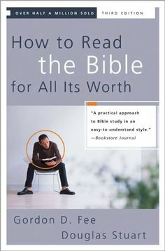 How to Read the Bible for All Its Worth by Gordon D. Fee, http://www.amazon.com/dp/0310246040/ref=cm_sw_r_pi_dp_MjeLqb1VSMTG8