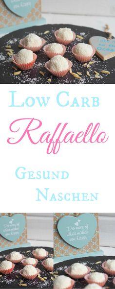 Selbstgemachtes Low-Carb Raffaello. So lecker und so einfach herzustellen. Im Mixer oder im Thermomix. Die Konsistenz ist natürlich etwas weicher als richtige Raffaellos, da Knusperschicht um die Füllung fehlt. Aber hey…schließlich sind das Low-Carb Raffaellos: toll im Geschmack und nicht so süß - Gesund naschen!