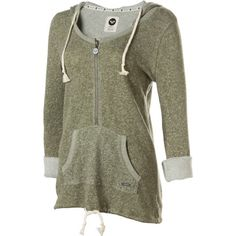 RoxyEdge Of Camp Fleece Hooded Pullover - Perfect for a fall hike!