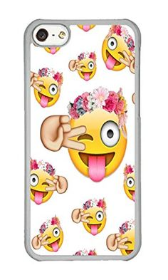 iPhone 5C Case DAYIMM Funny Emoji Face Custom Transparent PC Hard Case for Apple iPhone 5C DAYIMM? http://www.amazon.com/dp/B014GX9T8U/ref=cm_sw_r_pi_dp_Wrzkwb1N414M5