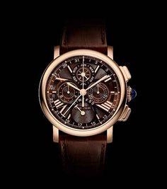 Cartier Rotonde de Cartier Perpetual Calendar Chronograph | Cartier RotondedeCartier QP Chrono front 560