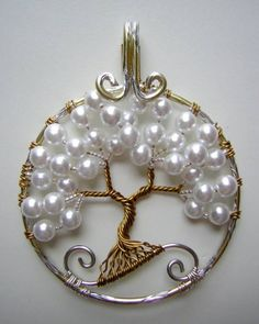 wire with pearls