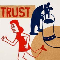 truts confia por ARTeFAKTshop en Etsy