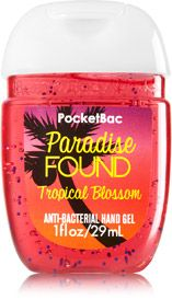 Paradise Found PocketBac Sanitizing Hand Gel - Soap/Sanitizer - Bath & Body Works