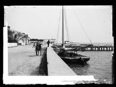 Circa late 1800's  St Augustine Bayfront