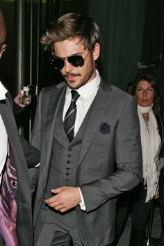 Want to be treated as if your older? Start dressing older -  Zac Efron