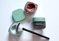 L'Oréal Paris: Tonerde Absolue Gesichtsmasken. Review und @goldenbeautymom #lorealparis #review #skincare #instadetox #mask