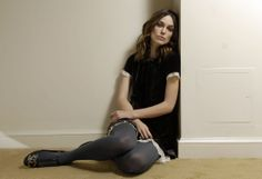 Keira Knightley in pantyhose - More pictures here: http://stockings-celebs.blogspot.com/2013/11/keira-knightley-in-pantyhose.html