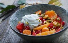 Smuk og sund citrussalat :) se opskriften på bloggen :)