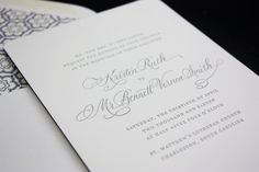Custom Design Studio and Wedding Invitations by Lilah Paper | Oh So Beautiful Paper
