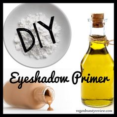 Eyeshadow Primers 101: They intensify the color of your shadowsand keep them from smearing or creasing by sopping up theoil on your eye lids—Amen, Hallelujah, and YESplease! If you're tired of searching for an affordable, vegan, and cruelty-free eyeshadow primer, get ready to take matters into your own hands!Yeps, I'm talkin' 'bout some DIY action! DIY Eyeshadow Primer 1/2 tsp coconut oil (can subolive oil, jojoba, or sweet almond oil) 1 tsp arrowroot powder (or