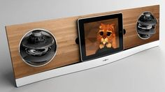 iPad dog speaker