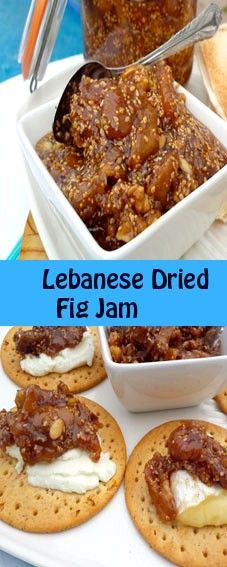 The jam is made of sun dried figs, that are available year round, sesame seeds, … – Kolay yemek Tarifleri Lebanese Desserts, Lebanese Recipes, Lebanese Cuisine, Dried Figs, Sun Dried, Mastic Gum, Great Recipes, Favorite Recipes, Fig Jam