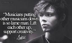 ~ Ashton Irwin (of 5SOS)