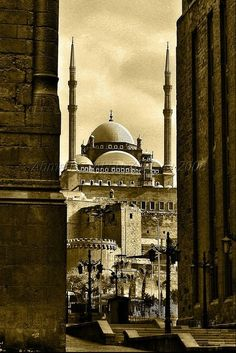 Mohamed Ali Mosque - Cairo, #Egypt Old Egypt, Cairo Egypt, Ancient Egypt, Religious Architecture, Ancient Architecture, Art And Architecture, Places In Egypt, Modern Egypt, Honeymoon Places