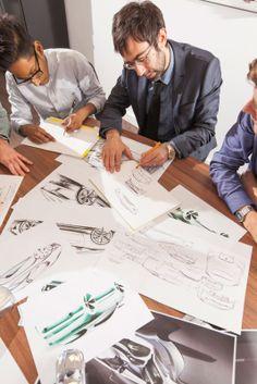 Jaguar Designers prepare Fearless Design concepts