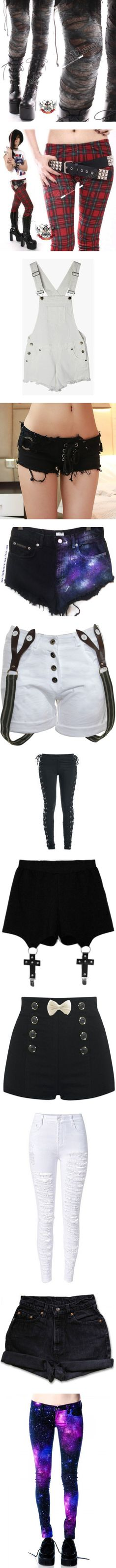 Pants and shorts by arabianhorsesforever on Polyvore featuring women's fashion…