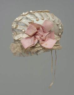 Bonnet, 1800-1805, France via MFA Boston