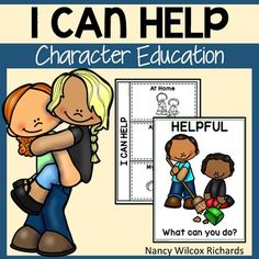 This character education resource about being helpful includes activities, writing prompts, readers, games, posters and more! Use this character education resource to help raise awareness about being kind! Most activities are NO PREP! This is part of: Character