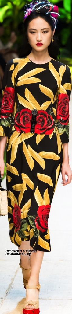 Dolce & Gabbana Spring-2017 Ready To Wear Collection Highlights