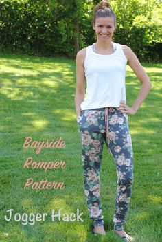 Jody from ArgyleandPearls is joining us again today for this amazing hack! Jody: As soon as I made my first pants length Bayside Romper, I knew I had to try to hack it to make the pants into joggers. It's a pretty simple hack, just requiring a small adjustment to the pattern pieces and adding …