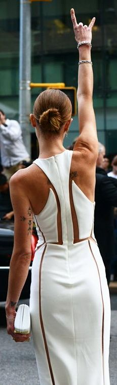 Erin Wasson in Alexander Wang