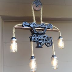 Barn Hay Trolley Light Authentic Reclaimed Decor Furniture Early 19th Century   eBay