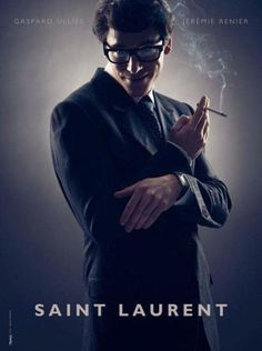 First image of the Yves Saint Laurent biopic with Gaspard Ulliel. This just looks perfect!