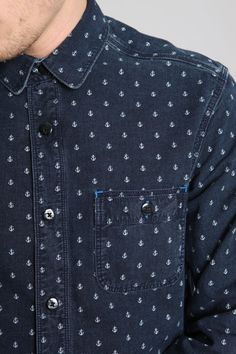Levis anchor print shirt