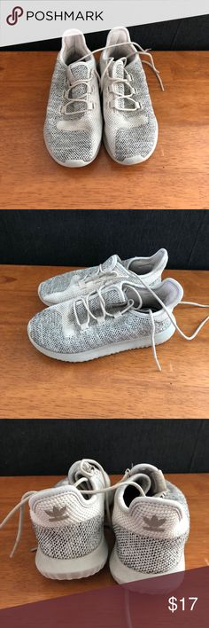 Kids Adidas Tubular Shadow Unisex. Great used condition. Nice, comfy walking shoes for the kiddos. adidas Shoes Sneakers