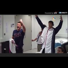 phelps and lochte celebrating adrian's gold. sooo cute