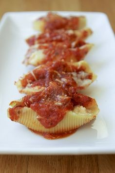 Three Cheese Stuffed Shells Recipe