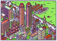 Colombo, Sri Lanka  Illustration by @Andres Lozano