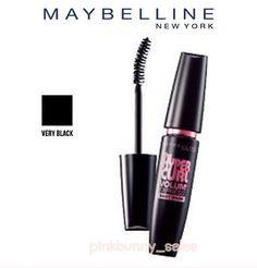 9cd087143b4 New Maybelline Volum Express Hypercurl Mascara Eyelashes Curl Sticks Women  Black