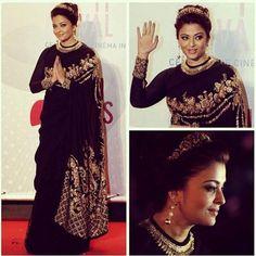 Aishwarya Rai sabyasachi #saree #sari #saaree