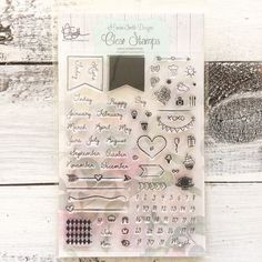 Calendar Planner Stamps | Marion Smith Designs