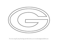 Learn How to Draw Green Bay Packers Logo (NFL) Step by Step   Drawing  Tutorials d276c579fcc
