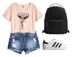 """Outfit"" by ilunaisabella on Polyvore featuring moda, H&M, adidas Originals y MANGO"