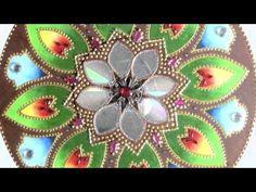 Passo a Passo Pintura em Vidro Mandala Pinctore Tigre - YouTube