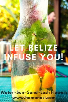 Exotic. Romantic. Adventurous. Lush. Let Hamanasi Belize intoxicate your senses! http://www.hamanasi.com/