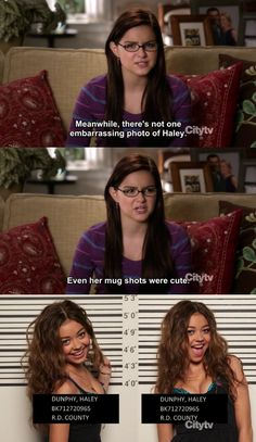 Modern Family - I used to feel this way about Jenni haha. She had the best school photos and mine were always awful.