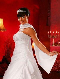 Stola aus Taft zur Hochzeit